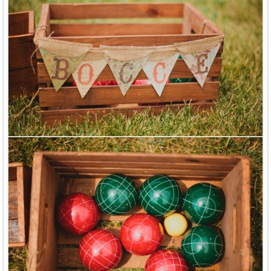 Bocce Ball at your Fallbrook Wedding Reception