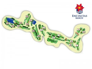 Encinitas Ranch Course Layout