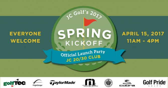 JC Golf Spring Kick Off banner ad