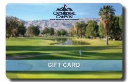 Cathedral Canyon Golf Club Gift Card