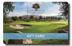 Woods Valley Golf Club gift card
