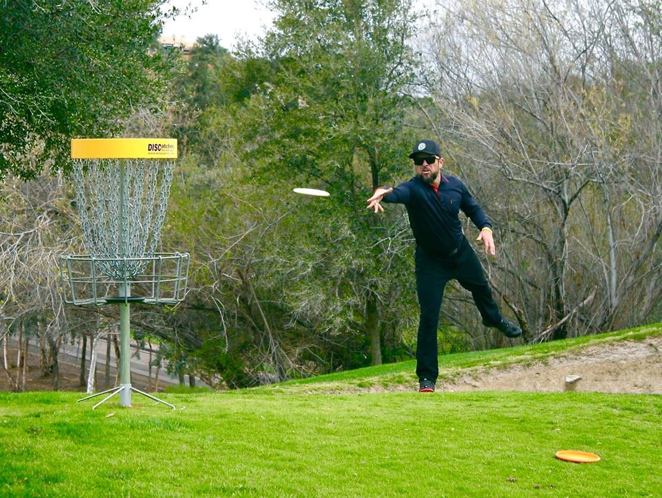 Disc throw golf - Reidy Creek