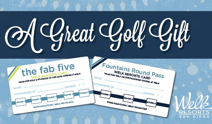 Welk Resorts Fab Five Card