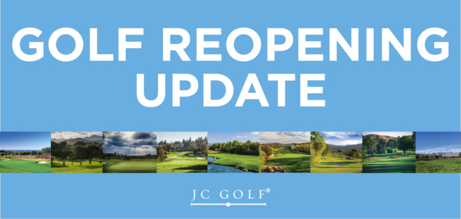 Golf Reopening Update